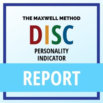 Report | Maxwell Method DISC Personality Indicator | Build Consulting Services | Mulberry, FL | Brian Brogen | A TRUE Leadership Improvement Journey