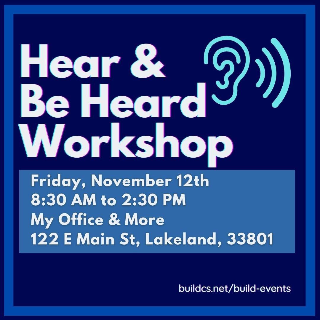 Active Listening Workshop